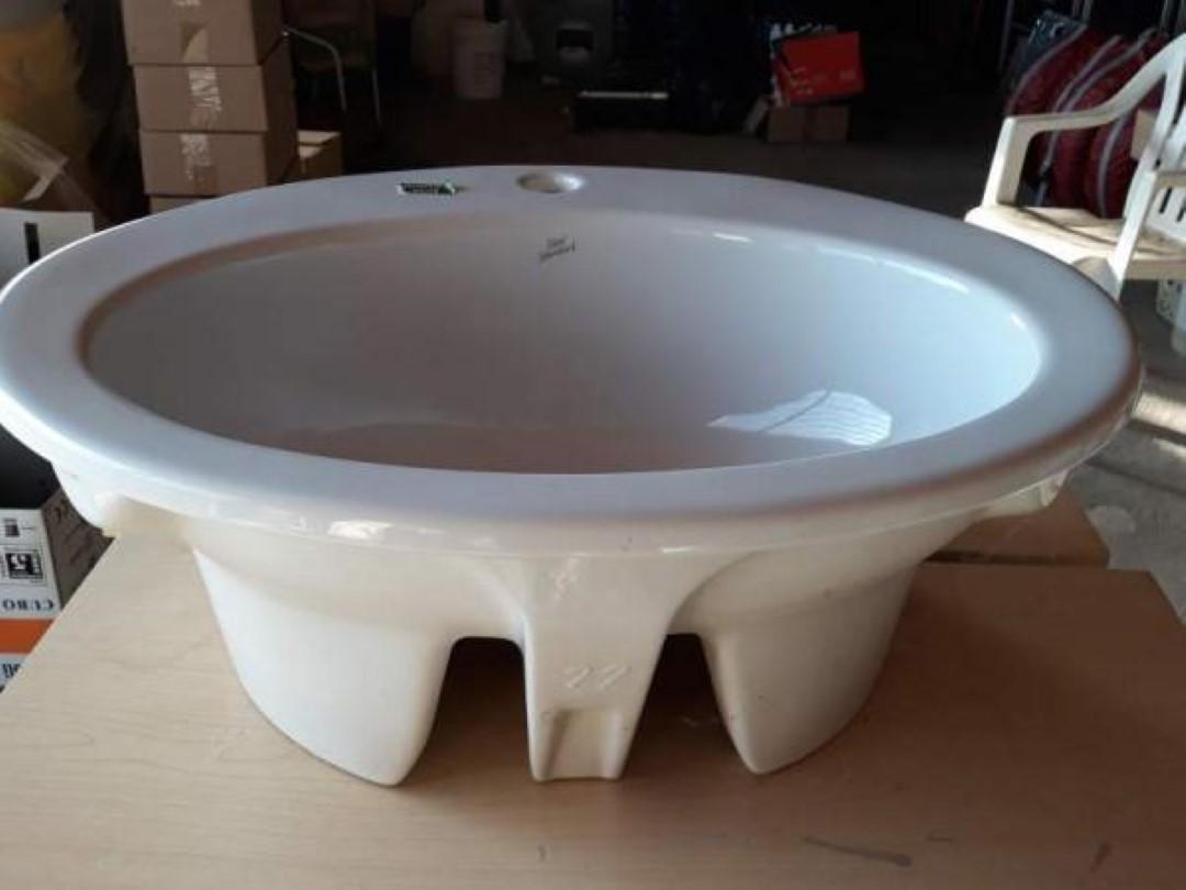 Lavabi Ad Incasso Ideal Standard.Lavabo Da Incasso Vanitory Ideal Standard 3 Fori Bianco Europa Ebay
